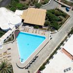 Piscina Hotel Pantelleria dall'alto