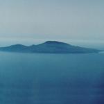 Pantelleria vista dall'aeroplano