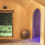 ingresso grotta e sauna
